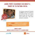 """EDESA lanza junto a UNICEF la campaña """"Los niños nos conectan"""""""
