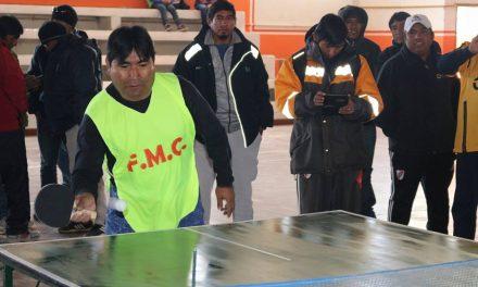 Olimpíadas mineras se destacaron en la semana del sector industrial