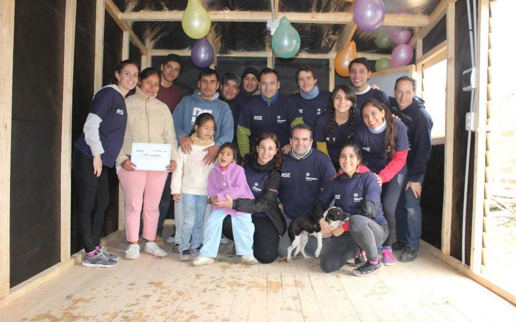 #EmpresasMiembro Sheraton Salta construyó dos viviendas con Techo