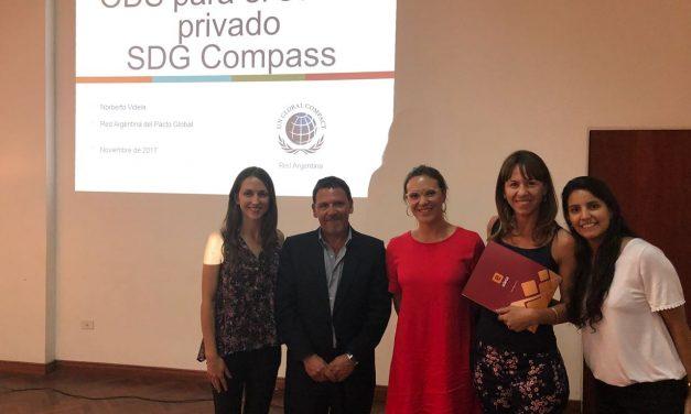 EDESA, la Unión Industrial de Salta y la Red Argentina del Pacto Global por los Objetivos de Desarrollo Sostenible.