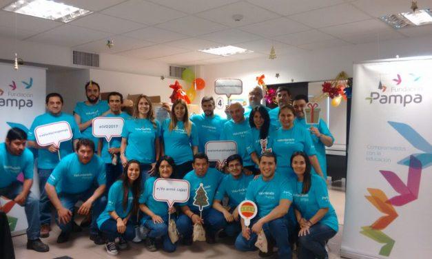 """Fundación Pampa Energía celebró """"Una noche buena para todos""""."""