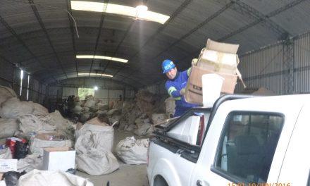 Gestión integral de residuos reciclables – Aguas del Norte.