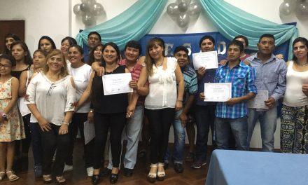 En EDESA, 37 personas obtuvieron su título secundario en el Plan de Finalización de Estudios (FinES).